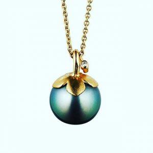 Tahiti pearl & Diamond